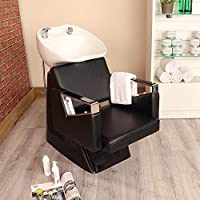 Black Hair Washing Salon Chair Hairdresser SPA Beauty Barber Equipment ...