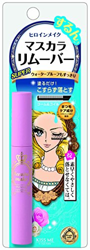KissMe Heroine Make Mascara Remover 6ml (japan import) [Badartikel]