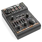 Power Dynamics PDM-D301 • 3-Kanal-Mixer • USB-Mischpult • 2-Wege-Equalizer • integrierter USB-Soundkarte • Stereo- und Mono-Eingangskanal • kombinierter Klinke/XLR-Eingang • +18 V Phantomspeisung • Master-Regler • Gain-Regler • Balance-Regler • schwarz