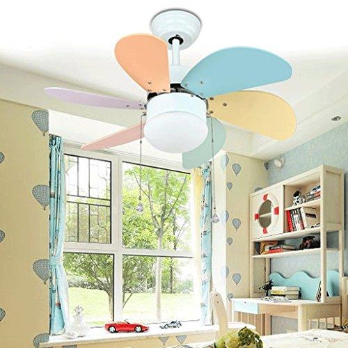 Ventilador de techo decorado lámpara de araña