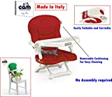#4: CAM SMARTY BABY Booster Seat-C26(Rosso) With Removable Cushion