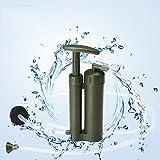 Longwei Strumenti per purificatore d'acqua Filtro a paglia Microfiltrazione per campeggio Escursionismo Viaggio Pronto soccorso Pronto per l'esterno Penna per filtro d'acqua salvavita Confezione da 2