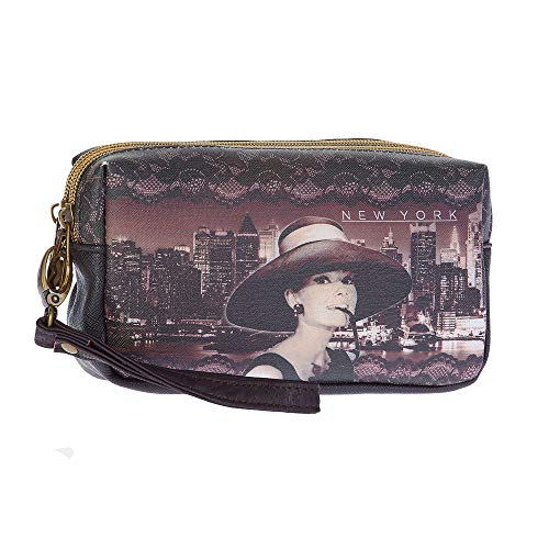 Karactermania Audrey Hepburn New York-Trousse de Toilette Box Beauty Case, 18 cm, Marrone (Brown)