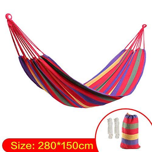 Lovebay Outdoor Indoor Hängematte xxl für kinder Camping Garten 250 kg Tragfähigkeit 110