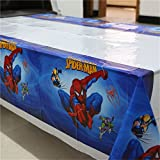 MY PARTY SUPPLIERS Spider-Man Table Cover. Premium Quality Spiderman theme Table Cover Spiderman Theme Cover