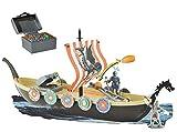 Unbekannt Wikingerschiff - schwimmt - im WASSER spielbar ! incl. Figuren + Zubehör - Wikinger - für Kinder zum Spielen + Bauen aus Plastik / Kunststoff - Deko Schiffe -..