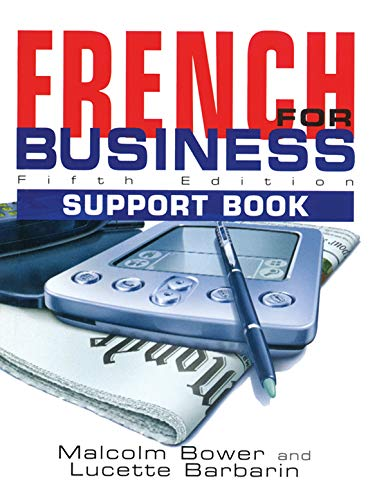 French for Business: Students Book, 5th Edition (French Edition)
