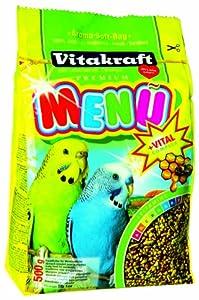 Vitakraft Budgie Food 500 g (Pack of 6) by Vitakraft