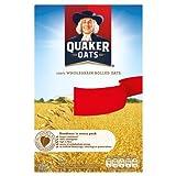 Quaker Oats 100% Grano entero Copos de avena 500g PMP (Pack de 10 x 500g)