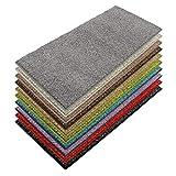 casa pura Teppich Läufer Luxury | Moderne Shaggy Optik mit flauschigem Hochflor | Teppichläufer in vielen Farben für Flur, Schlafzimmer, Wohnzimmer etc. | viele Breiten und Längen (80 x 450cm, grau)