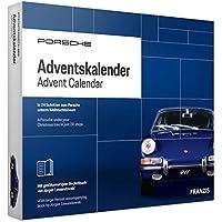 FRANZIS Porsche Adventskalender 2019 | In 24 Schritten zum Porsche unterm Weihnachtsbaum | Neue überarbeitete Edition 2019 | Ab 14 Jahren
