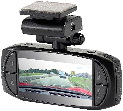 NavGear Autocam: Super-HD-Dashcam MDV-3300.SHD, G-Sensor, Weitwinkel, GPS (Autokameras)