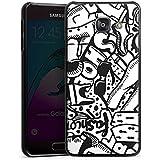 Samsung Galaxy A3 (2016) Housse Étui Protection Coque Vêtement Fashion Mode