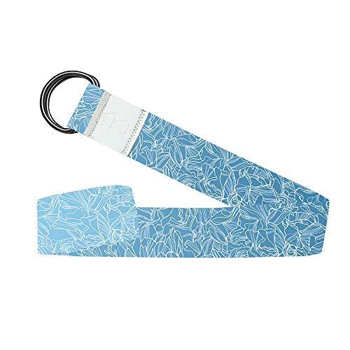 Yoga Design Lab Yogagurt 240 cm | Extra Langer, bunter Yoga Gurt, umweltfreundlich | Für eine intensivere Dehnung bei Gymnastikübungen