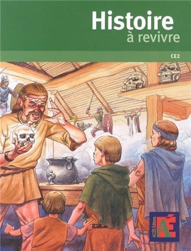 Histoire  revivre CE2 + DVD-Rom de Jean-Pierre Remond (2013) Broch