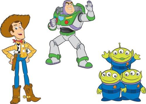 Disney Pixar - Décorations adhésives en relief - Toy Story