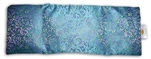 Übergroße Eye Kissen: Lavendel & flachssamen gefüllt, mit Carry Tasche. Als Luxuriöse Wärme/Kühlung Sack (Hitzewallungen Für Kissen)