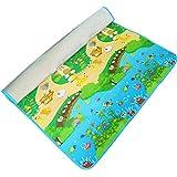 RYLAN Playmat Waterproof, Anti Skid, Double Sided Baby Crawling Mat Waterproof Double Side