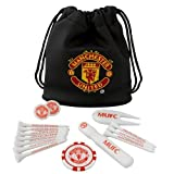 Manchester United Fc Man Utd Tote Bag Golf Golfer Gift Set Tees Ball Marker etc