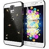 delightable24 Schutzhülle Sparkle Design Case SAMSUNG GALAXY S5 / S5 NEO Smartphone - Schwarz