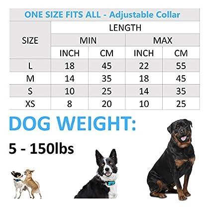 The Woof Whisperer Anti Bark Dog Collar Small Medium Large Dogs STOP BARKING No Shock Vibration Sound Training Collar… 5
