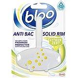 Bloo Solid Rim Toilet Block Complete Citrus - 38 g
