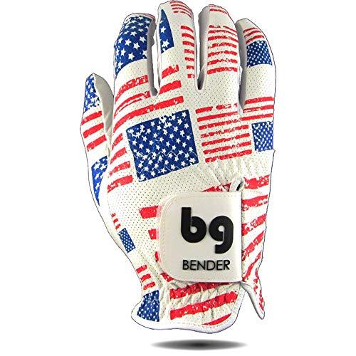Bender Handschuhe Mesh Golf Handschuhe für Damen Cabretta Leder Easy-Grip Handschuhe Links getragen, usa, Small -