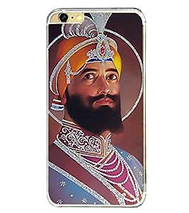 Guru Gobind Singh Ji 2D Hard Polycarbonate Designer Back Case Cover for Apple iPhone 6 Plus :: Apple iPhone 6+