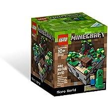 Lego 6021886 Minecraft - Juego de construcción de un mini-mundo (480 piezas)