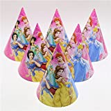 Masti Zone Pack Of 10 Cartoon Character Girls Happy Birthday Party Caps /Hats For Kids / Boys,Children Birthday Party Celebration Item