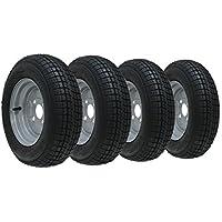 10,2- 25,4cm pollici ruota per rimorchio e pneumatici 145106ply 400kgs 76m a 4100mm PCD