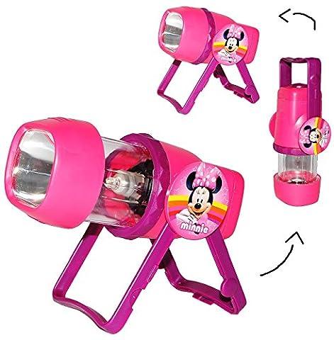 3 in 1: Kombi - Taschenlampe LED -