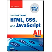 Sams Teach Yourself HTML, CSS, and JavaScript All in One by Meloni, Julie (2011) Paperback