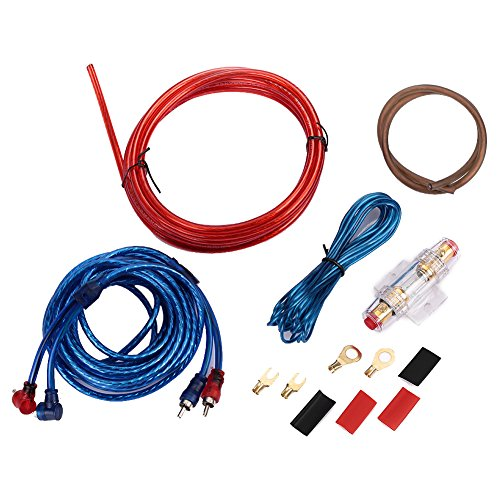 Verstärker Kabel Auto Verstärker Installation Kits Durable 1500W Kabel-electronics Video-verstärker