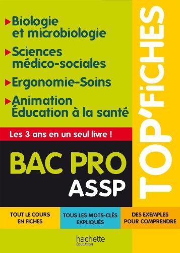 TOP'Fiches - Ergo-soins, biologie Bac Pro ASSP PDF Books