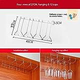 Pengxindayuanshan Weinglas-Halter – Unterer Schrank Aufbewahrung aus Metall – Küche eine Vielzahl von Spezifikationen, Metall, 45cm*27cm
