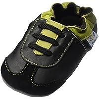 Jinwood designed by amsomo Verschiedene Modelle - Boys - Jungen - Hausschuhe - Echt Leder Lederpuschen - Krabbelschuhe - Soft Sole/Mini Shoes Div. Groeßen 17/19-35/36