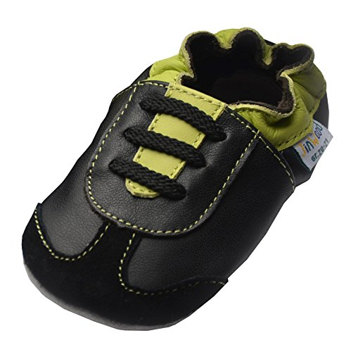 Jinwood designed by amsomo - ATHLETICS GREEN/BLACK - soft sole , EU 33/34