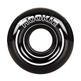 Rookie All Star Quad Wheels x4 Black/White 58mm