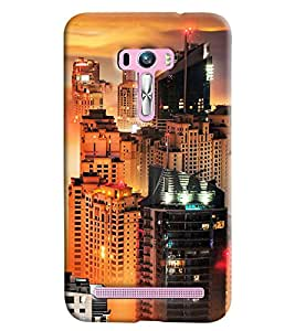 Clarks Printed Designer Back Cover For Asus Zenfone Selfie