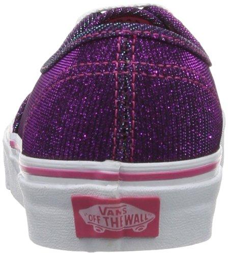 Vans U Authentic, Baskets mode mixte adulte Violet (Magenta)