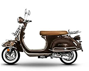 retro roller classiccruiser 25 km h mofa 50 ccm mokka. Black Bedroom Furniture Sets. Home Design Ideas