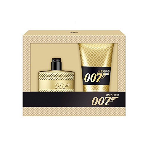 James Bond 007 Duo Gift Set for Men, Gold