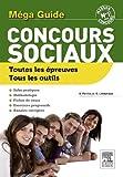 Image de Méga Guide concours sociaux: ASS, ES, EJE, ME, AMP