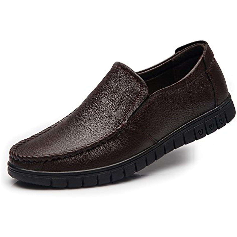 Yajie-Chaussure Yajie-Chaussure Yajie-Chaussure s store, GlisseHommes t des Hommes sur des Chaussures de Mocassin Formel Oxfords Semelles Souples de Grande... - B07H1LJGLV - 812fe8