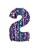 Esclusivo palloncino in mylar a forma di numero con stampa a fantasia colorata. Disponibile con tutti i numeri da 0 a 9. Ideale sia da appendere che come addobbo da terra, per decorare in maniera originale e chic le tue feste di compleanno, a...