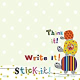 TORTOISE STICKY NOTE POST ITS PAD - 100 x 100 mm, 80 sheets