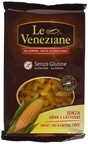 Price comparison product image Le Veneziane Gluten Free Fusilli 250 g (Pack of 4)