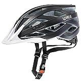 Fahrradhelm Uvex i-vo cc, black-white mat, 52-57 cm