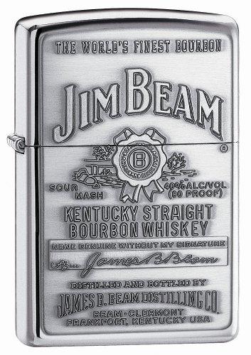 zippo-jim-beam-emblem-lighter-mechero-color-color-plateado